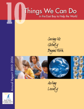 East Bay Community Foundation - 2005-2006 Annual Report