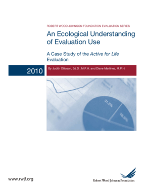 An Ecological Understanding of Evaluation Use: A Case Study of the Active for Life Evaluation