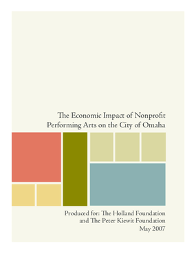 The Economic Impact of Nonprofit Performing Arts on the City of Omaha