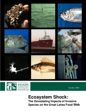 Ecosystem Shock: The Devastating Impacts of Invasive Species on the Great Lakes Food Web