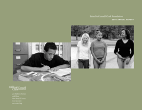 Edna McConnell Clark Foundation - 2006 Annual Report
