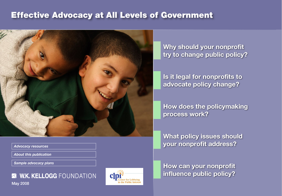 Effective Advocacy at All Levels of Government