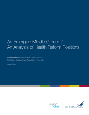 An Emerging Middle Ground?: An Analysis of Health Reform Positions