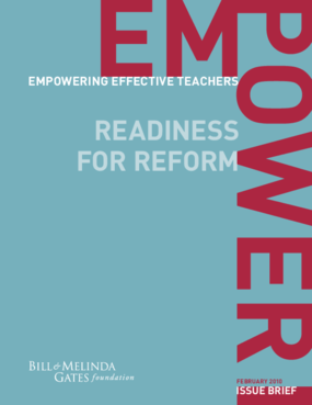 Empowering Effective Teachers: Readiness for Reform