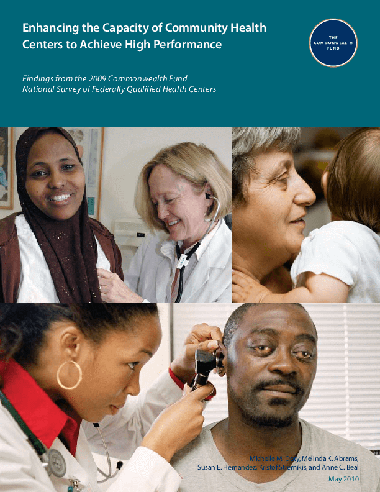Enhancing the Capacity of Community Health Centers to Achieve High Performance