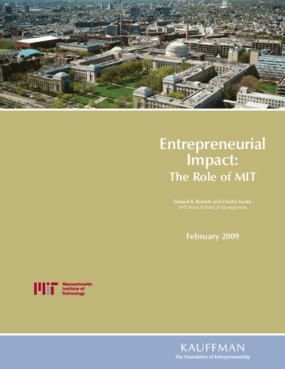 Entrepreneurial Impact: The Role of MIT