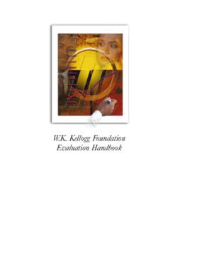 Evaluation Handbook