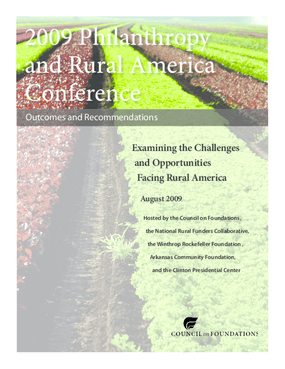 Examining the Challenges and Opportunities Facing Rural America