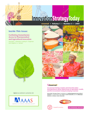 Facilitating Humanitarian Access to Pharmaceutical and Agricultural Innovation