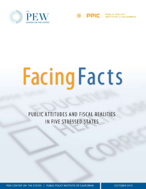 Facing Facts: Public Attitudes and Fiscal Realities in Five Stressed States