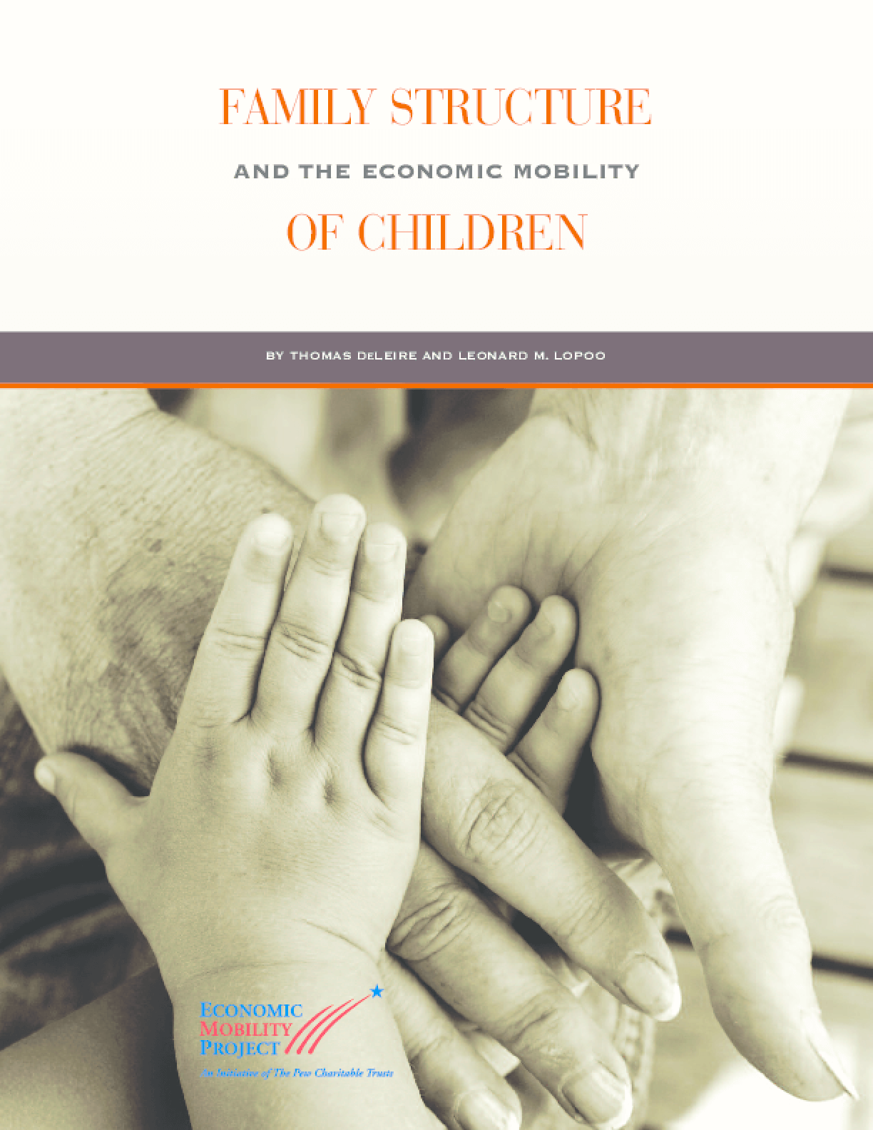 Family Structure and the Economic Mobility of Children