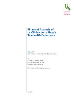 Financial Analysis of La Clinica de la Raza's Telehealth Experience