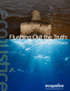 Flushing Out the Truth: Sewage Dumping in Ontario