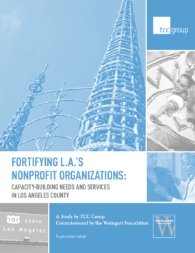 Fortifying LA's Nonprofit Organizations: Capacity-Building Needs and Services in Los Angeles County