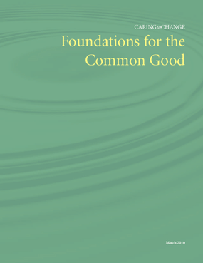 Foundations for the Common Good