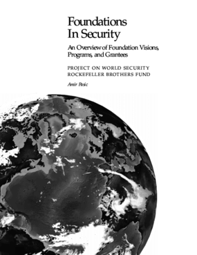 Foundations in Security: An Overview of Foundation Visions, Programs, and Grantees