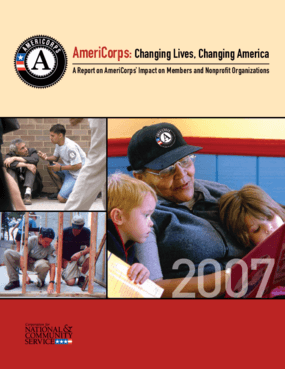 AmeriCorps: Changing Lives, Changing America