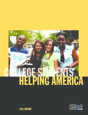 College Students Helping America