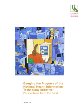 Gauging the Progress of the National Health Information Technology Initiative: Perspectives from the Field