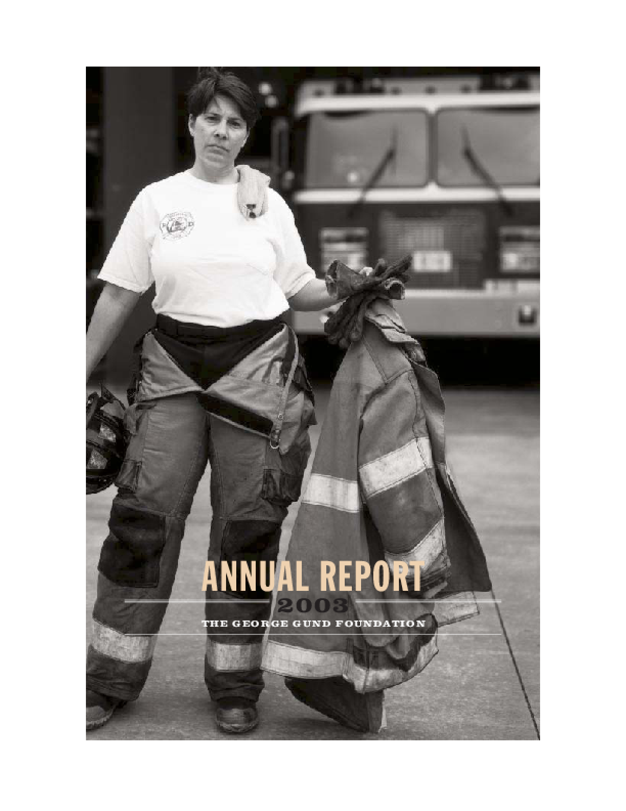 George Gund Foundation - 2003 Annual Report