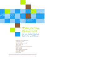 Volunteering Reinvented: Human Capital Solutions for the Nonprofit Sector