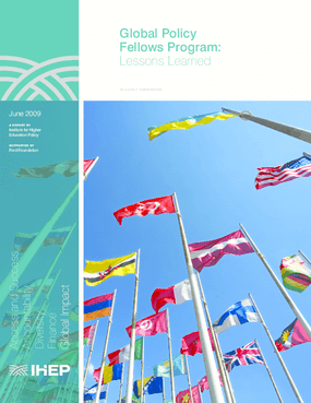 Global Policy Fellows Program: Lessons Learned