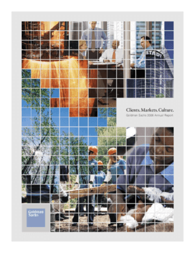 Goldman Sachs Foundation - 2006 Annual Report: What Will it Take to Lead?