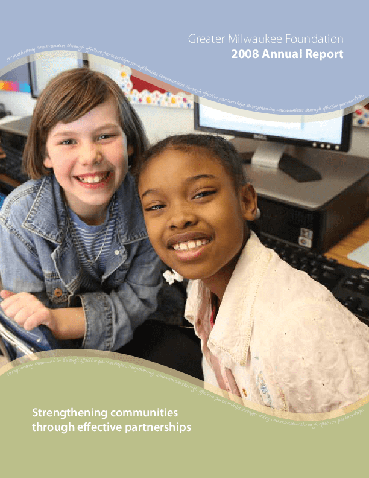 Greater Milwaukee Foundation - 2008 Annual Report