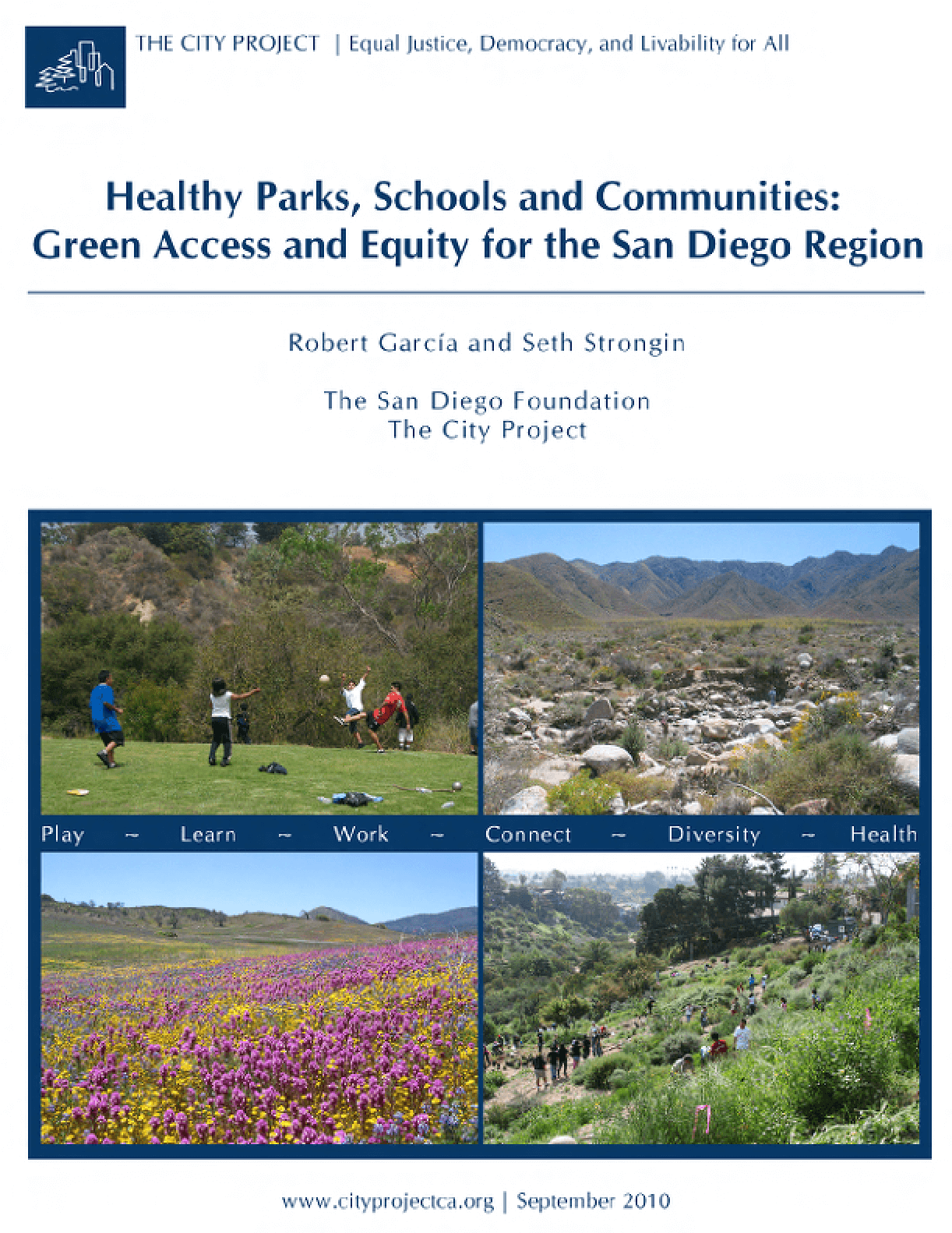 Green Access and Equity for the San Diego Region