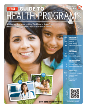 Guide to Health Programs