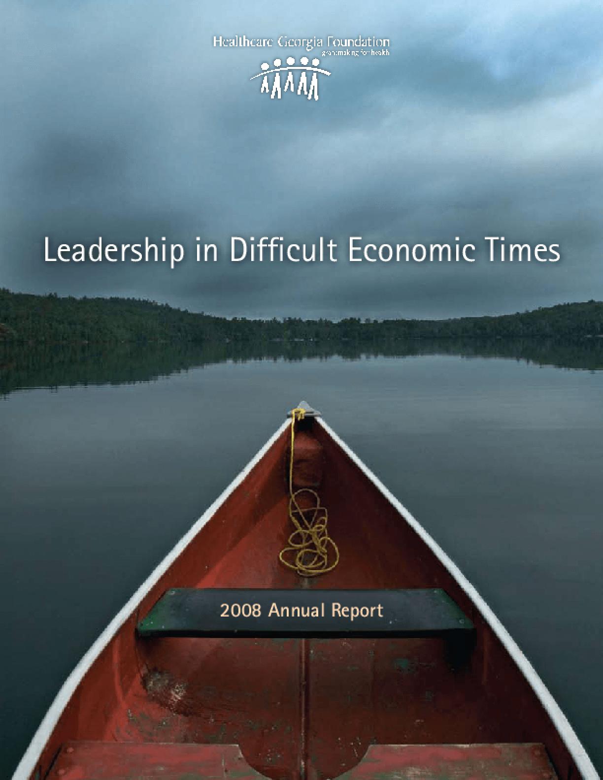 HealthCare Georgia Foundation - 2008 Annual Report