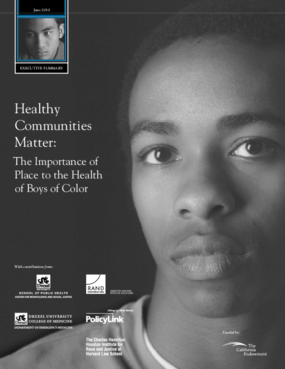 Healthy Communities Matter: The Importance of Place to the Health of Boys of Color
