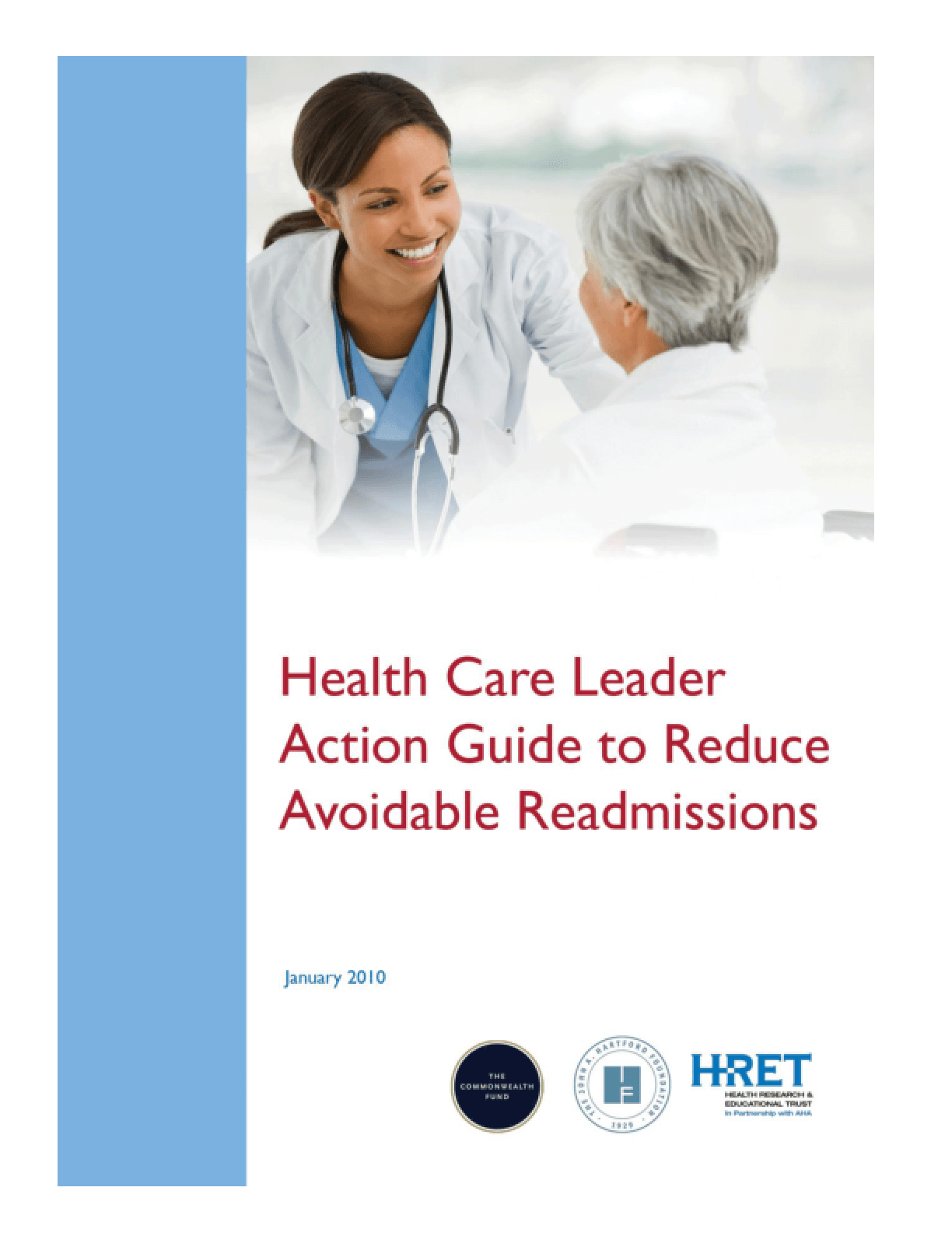 Health Care Leader Action Guide to Reduce Avoidable Readmissions