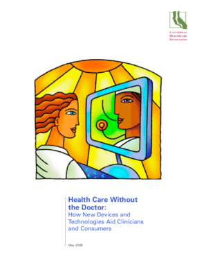Health Care Without the Doctor: How New Devices and Technologies Aid Clinicians and Consumers