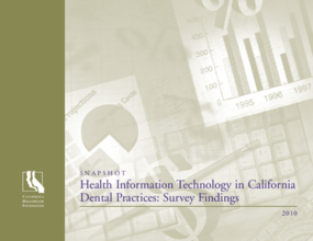 Health Information Technology in California Dental Practices: Survey Findings