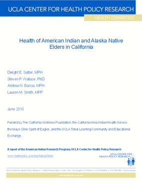 Health of American Indian and Alaska Native Elders in California