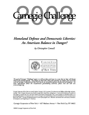 Homeland Defense and Democratic Liberties: An American Balance in Danger?