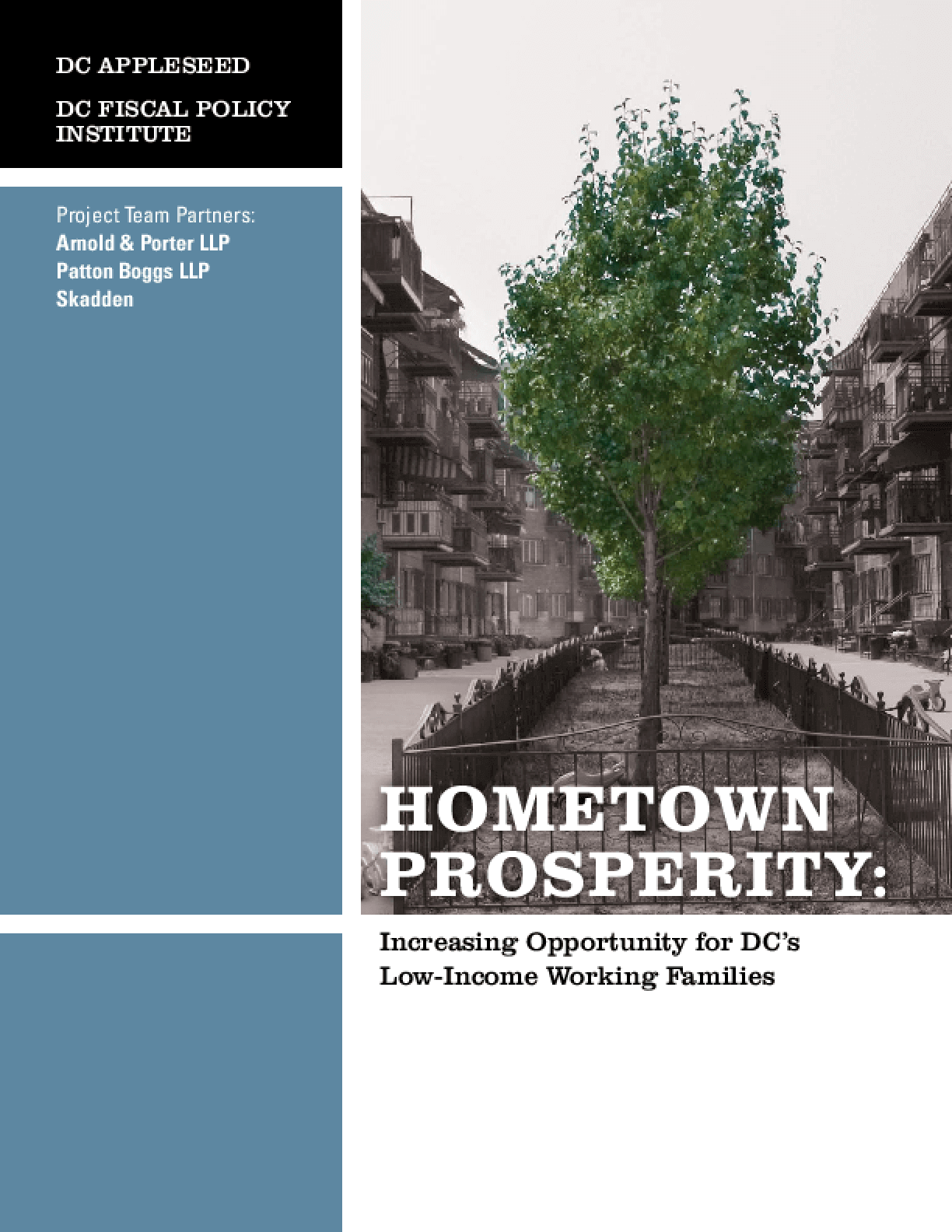 Hometown Prosperity: Increasing Opportunity for DC's Low-Income Working Families