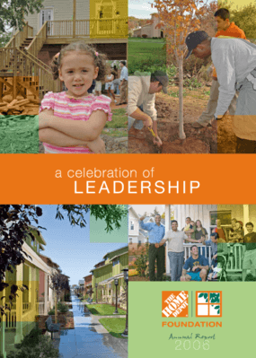 Home Depot Foundation - 2006 Annual Report