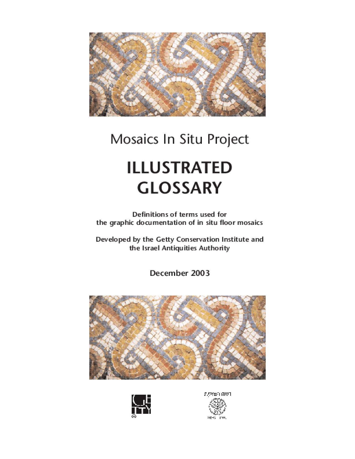 Illustrated Glossary: Mosaics In Situ Project