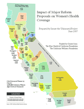 Impacts of Major Reform Proposals on Women's Health