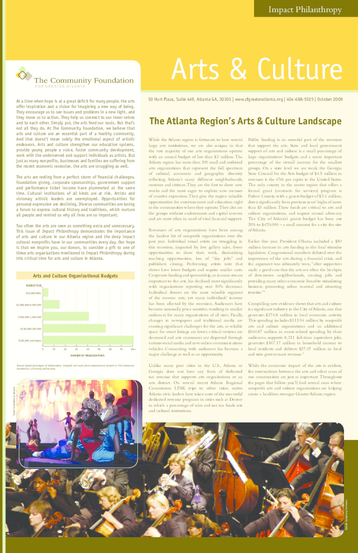 Impact Philanthropy: Arts & Culture