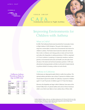 Improving Environments for Children with Asthma