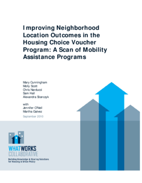 Improving Neighborhood Location Outcomes in the Housing Choice Voucher Program: A Scan of Mobility Assistance Programs