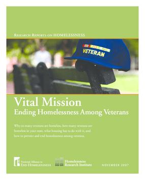 Vital Mission: Ending Homelessness Among Veterans
