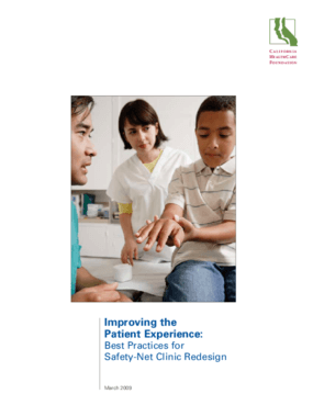 Improving the Patient Experience: Best Practices for Safety-Net Clinic Redesign