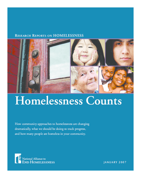 Homelessness Counts