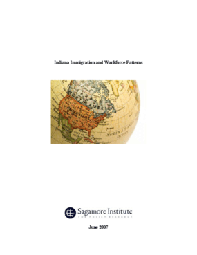 Indiana Immigration and Workforce Patterns
