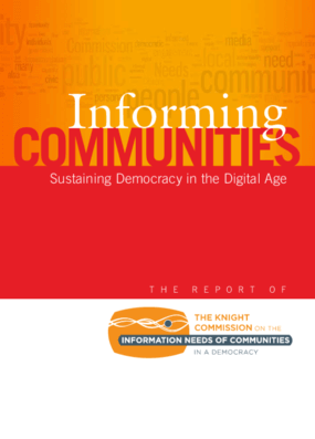 Informing Communities: Sustaining Democracy in the Digital Age