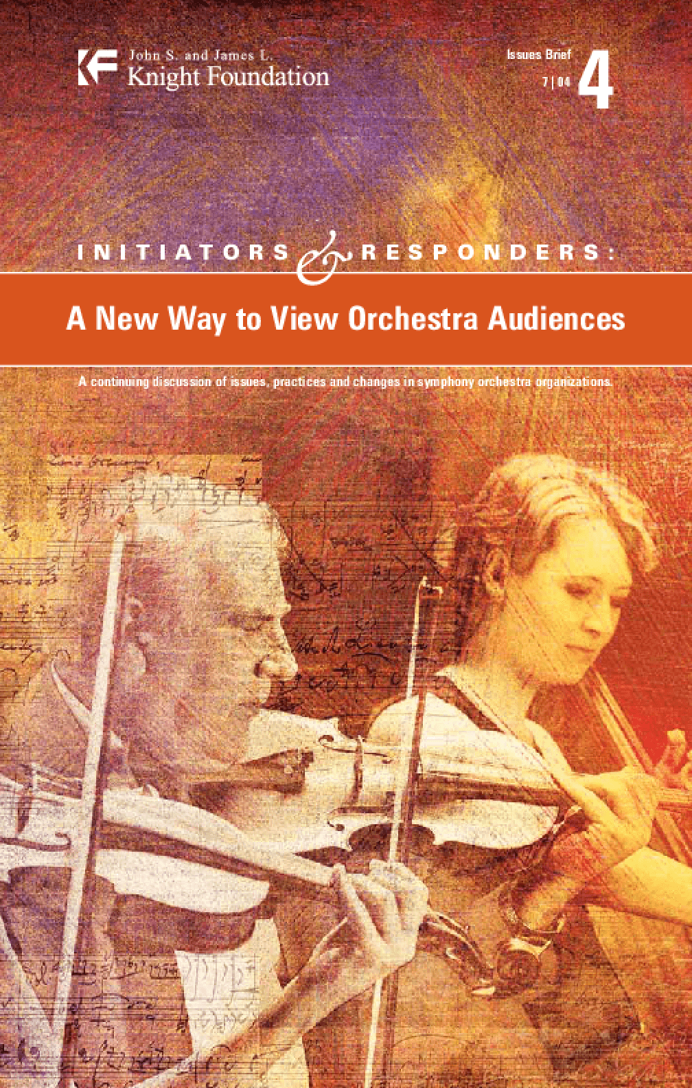 Initiators and Responders: A New Way to View Orchestra Audiences